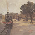 William Benner. Southwold Station